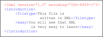 XML is       easy to learn