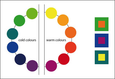 1 3 2 colour contrast - Contrast with green colour ...